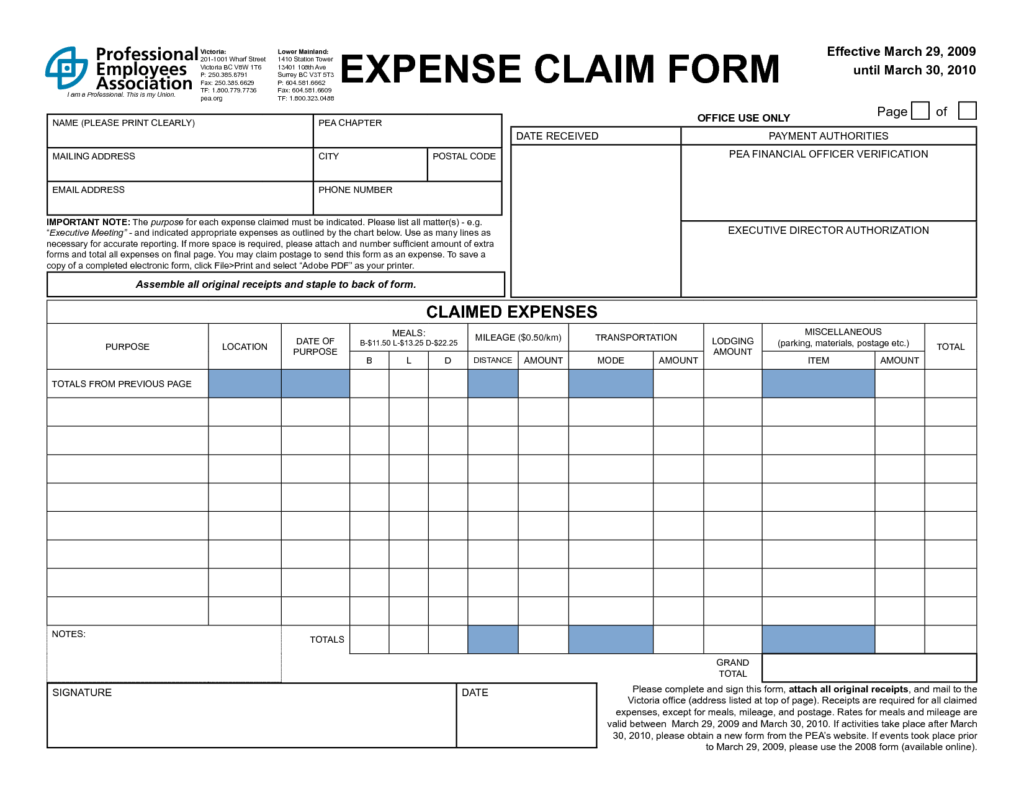 Owner Operator Monthly Expenses Spreadsheets