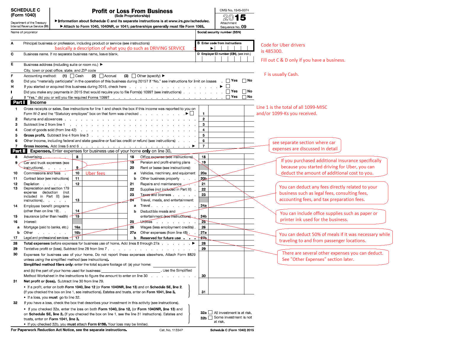 Tax Deduction Worksheet For Truck Drivers Spreadsheets