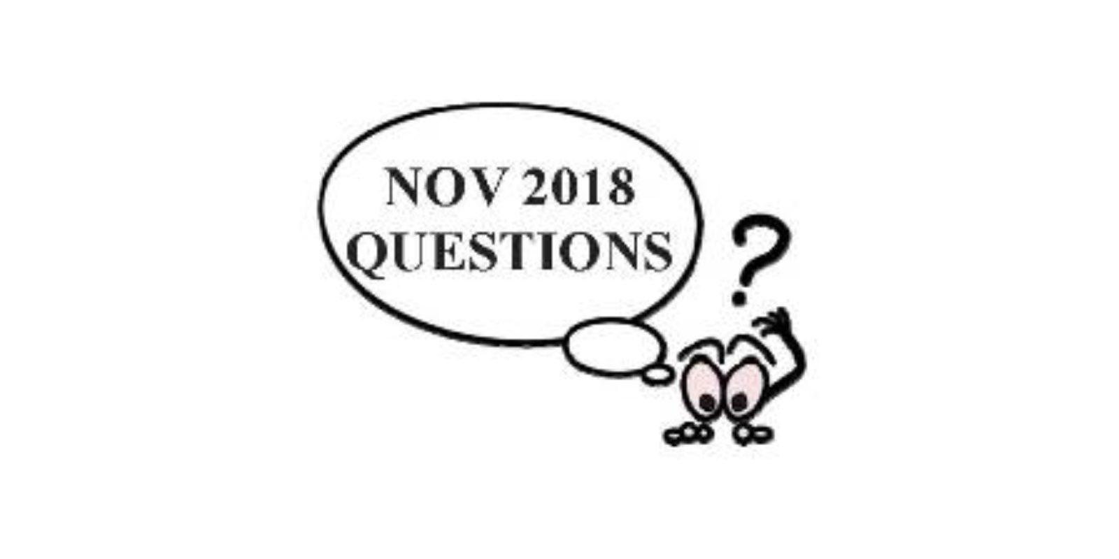 Jim S November Garden Quiz Questions