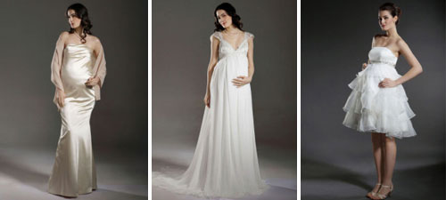 Beautiful Maternity Bridal Dresses