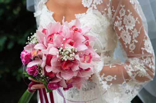 Stunning Pink Bridal Bouquet Ideas & Pictures