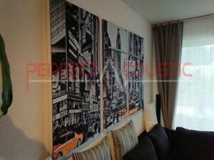 panneau acoustique mural decoratif la qualite de la photo