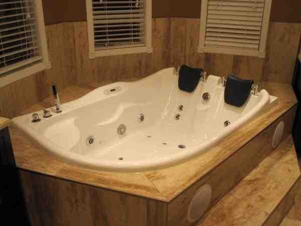 Whirlpool Bathtub For Two People AM124 Perfect Bath Canada
