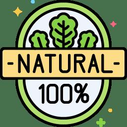 100%-ban természetes
