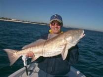 Dad's Panama City Beach Bull Redfish