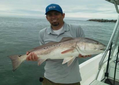 Jeff's Panama City Beach Bull Redfish!