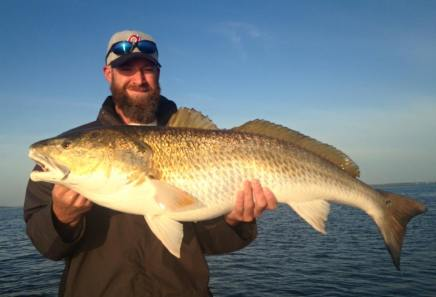 Daniel's St Joe Bay Bull Redfish