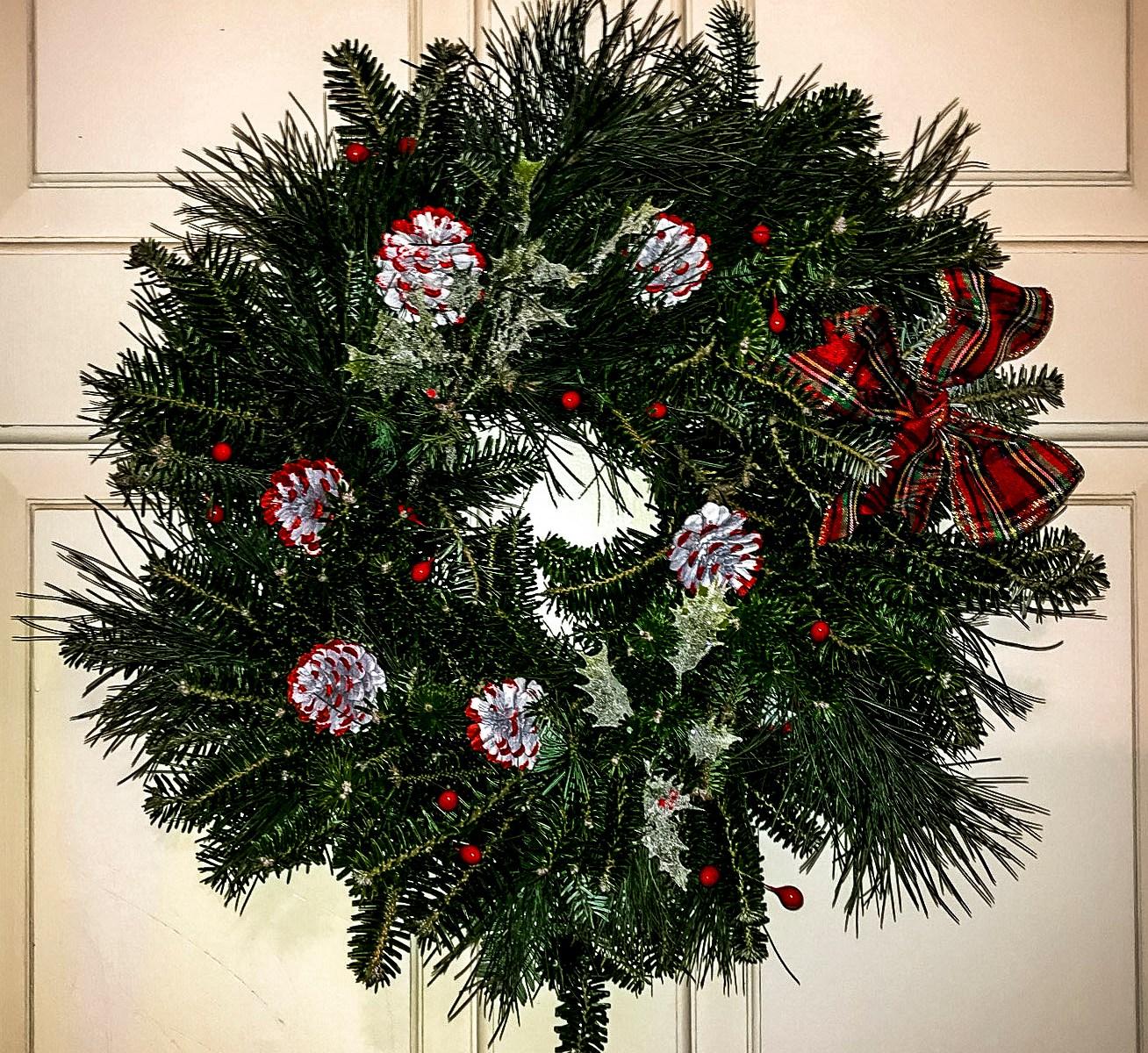 Christmas Wreath for the door