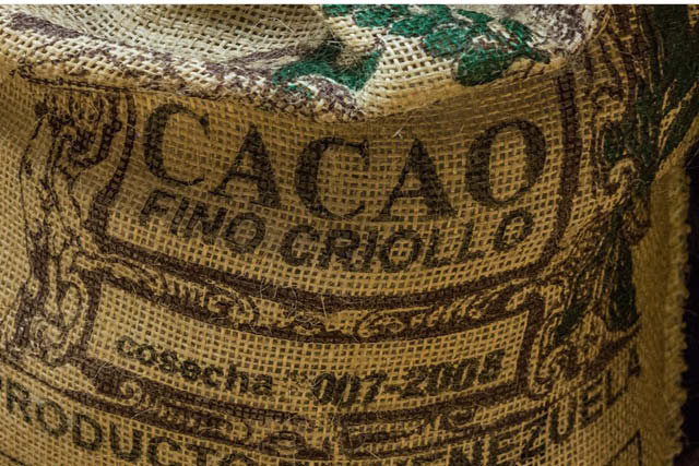sack of cacao beans