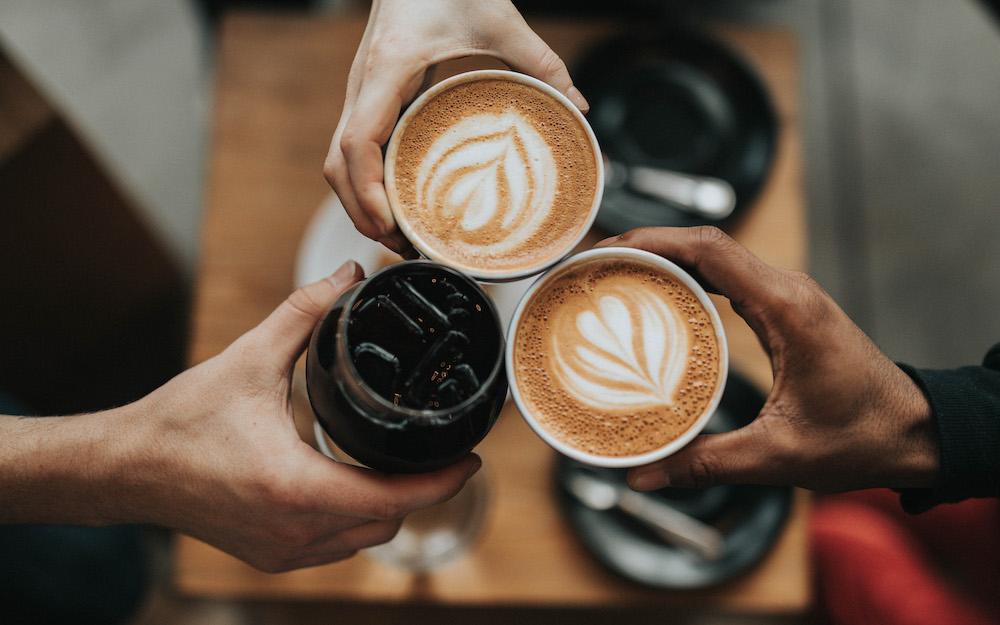 three types of coffee