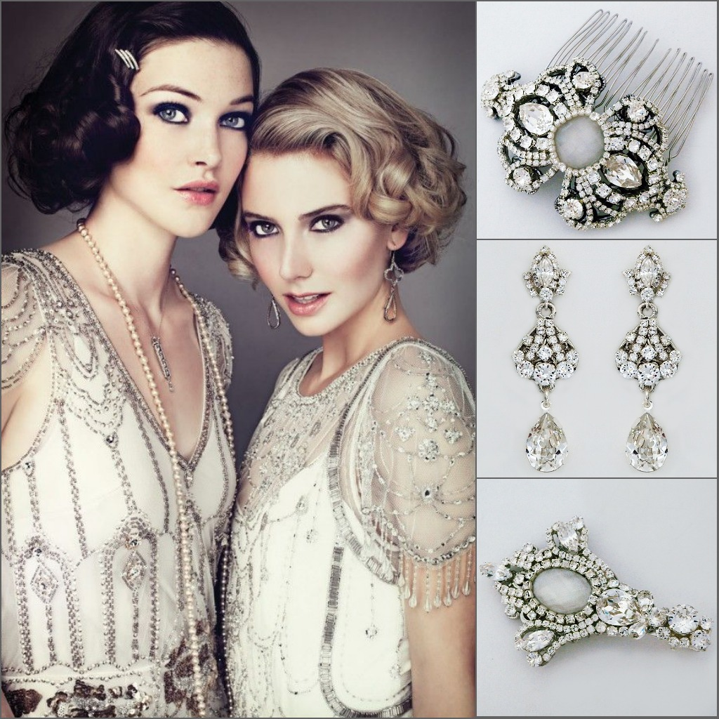 Couture Bridal Jewelry Erin Cole Modern Vintage Bridal