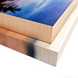 Wood Print wraps