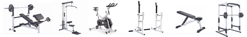 Home and Light Commercial Gym Equipment