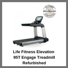 Life Fitness Elevation 95T Engage Treadmill