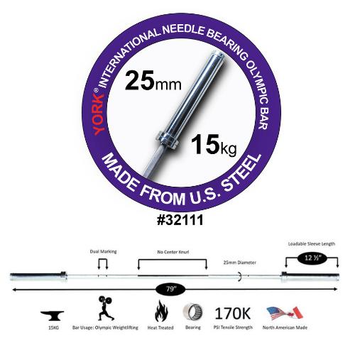 Women's 6.5' International Needle Bearing Bar
