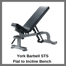York Barbell STS Flat to Incline Bench