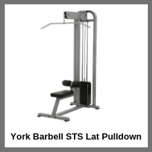 York Barbell STS Lat Pulldown