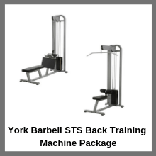 York York Barbell STS Back Training Machine Package