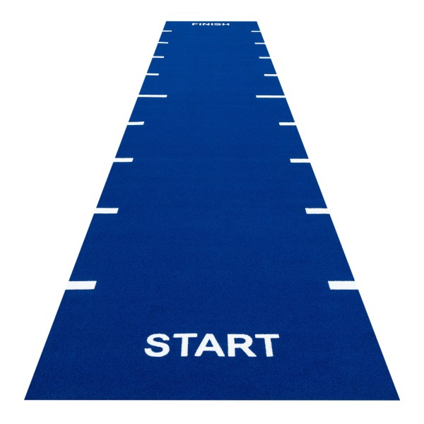 Heavy Sprint Track Blue (Line Markings Start and Finish)