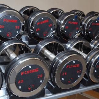Forge Fitness Custom Pro Dumbbells