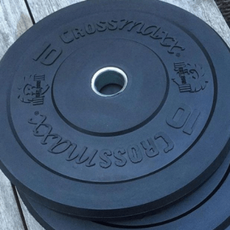 Crossmaxx Black Bumper Plates Sets