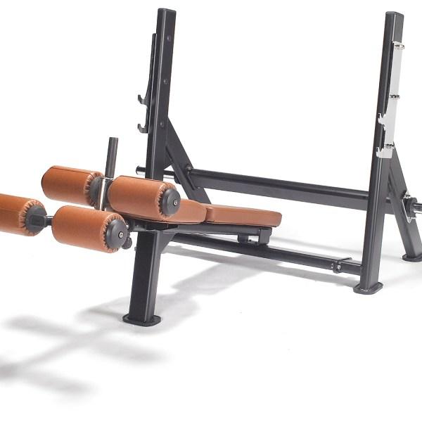 Endura Fitness PRO TRAIN Olympic Decline Bench