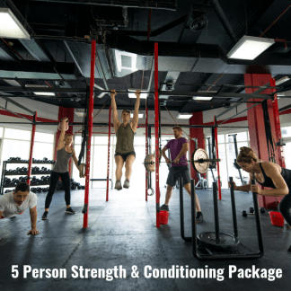 5 Person Strength and Conditioning Package (2)