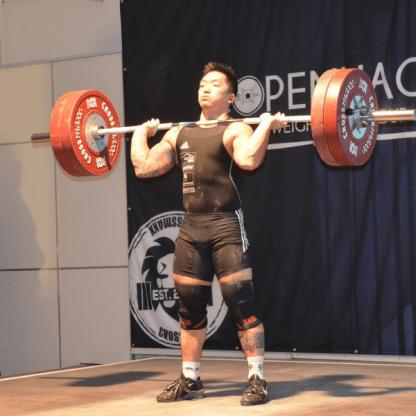 Crossmaxx Weightlifting Olympic Competition Bar - 20kg Men42
