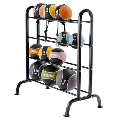 York Barbell Medicine Ball Racks  10