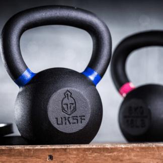 UKSF Cast Iron Kettlebells 4kg - 32kg