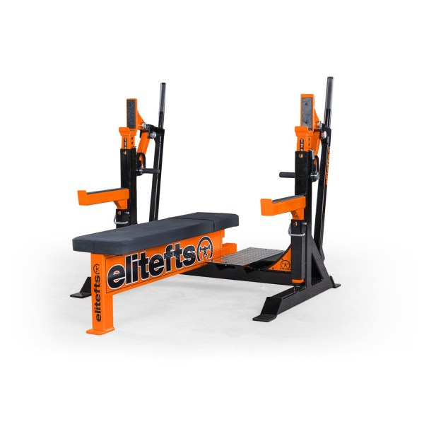 ELITEFTS™ Signature Elite Competition Olympic Bench Orange
