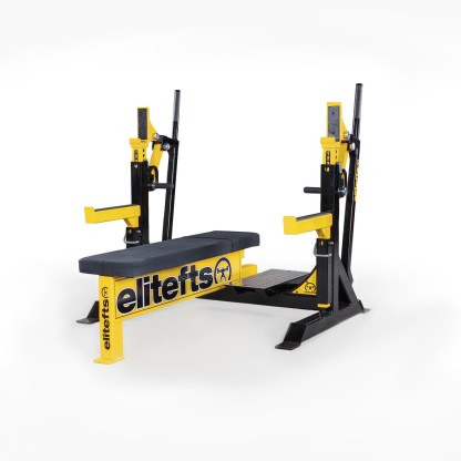 ELITEFTS™ Signature Elite Competition Olympic Bench Yellow