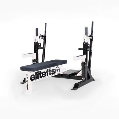 ELITEFTS™ Signature Elite Competition Olympic Bench White