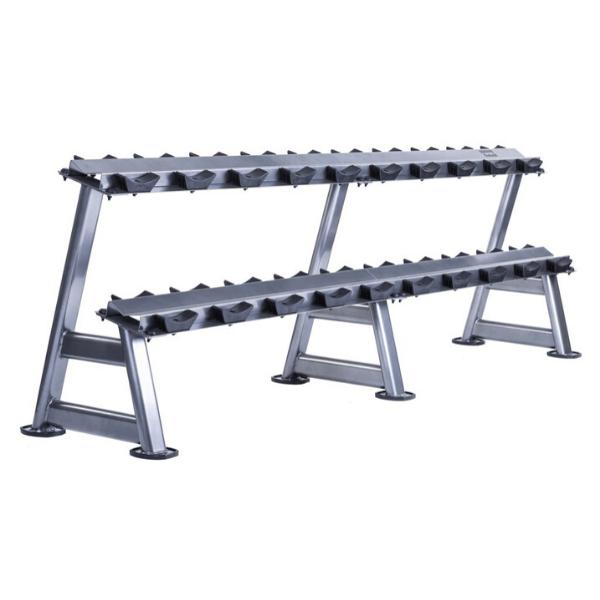Jordan Fitness 10 Pair Dumbbell Rack (2 tier)