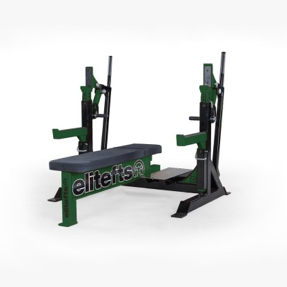ELITEFTS™ Signature Elite Competition Olympic Bench Dark Green