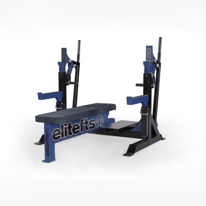 ELITEFTS™ Signature Elite Competition Olympic Bench Navy Blue