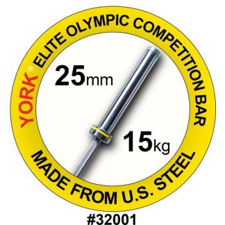 York Barbell Women's 6.5' Elite Olympic Competition Bar