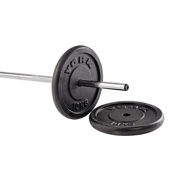 York Fitness Standard Cast Iron Weight Plates