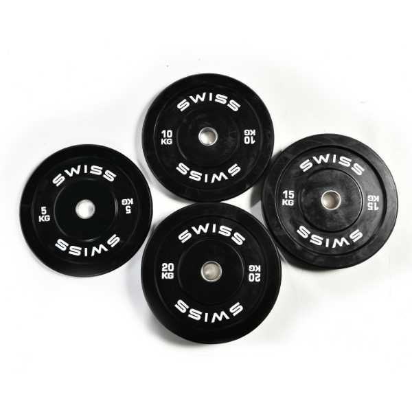 SWISS Black Bumper Plate Sets
