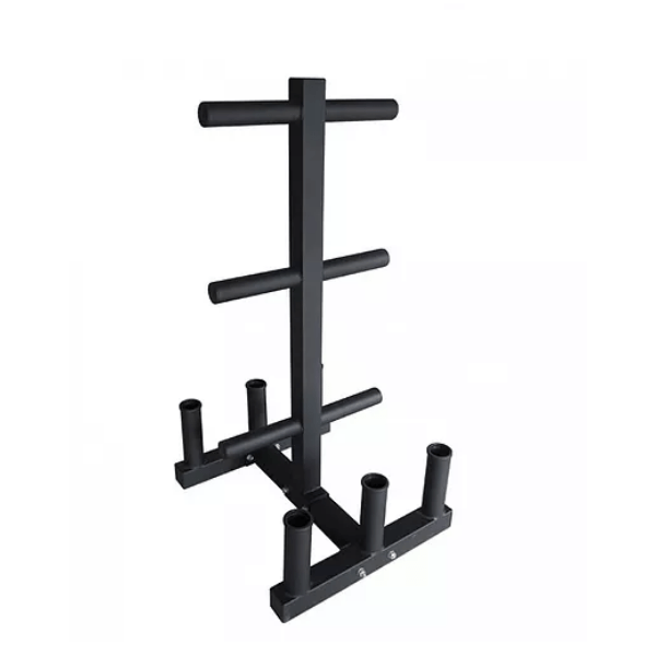 Olympic Weight Tree with Bar Holder