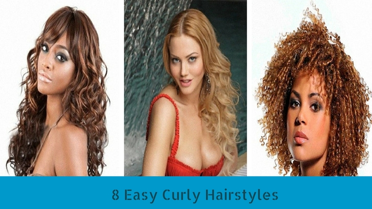 8 Easy Curly Hairstyles