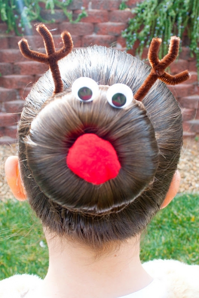 The Reindeer Bun