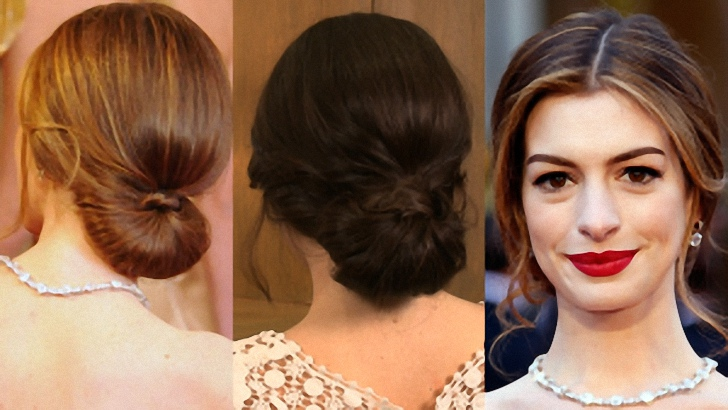 Gorgeous Women Low Bun Hairstyles