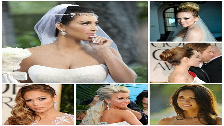 Celebrity Inspired Wedding Hairstyles for 2019