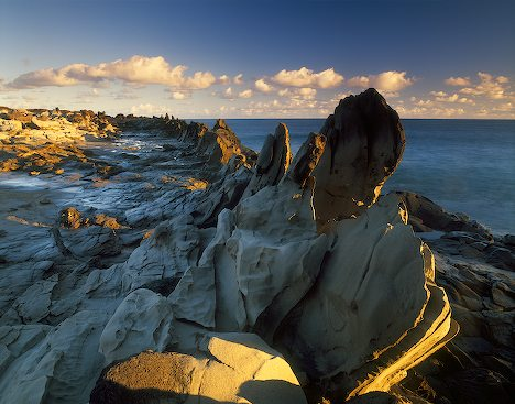 Dragon's Teeth at sunrise
