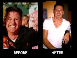 personal trainer in las vegas Before after of Tom M.