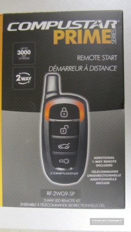 Mercedes-Benz GLK Remote Starter
