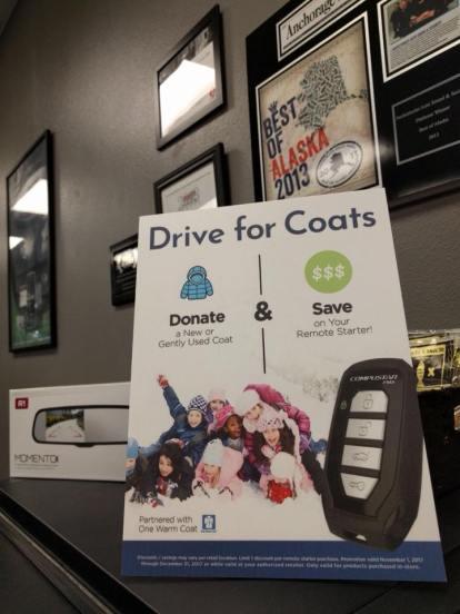 Coat Drive Image