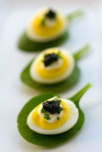 Deviled Eggs from The Glamorous Housewife