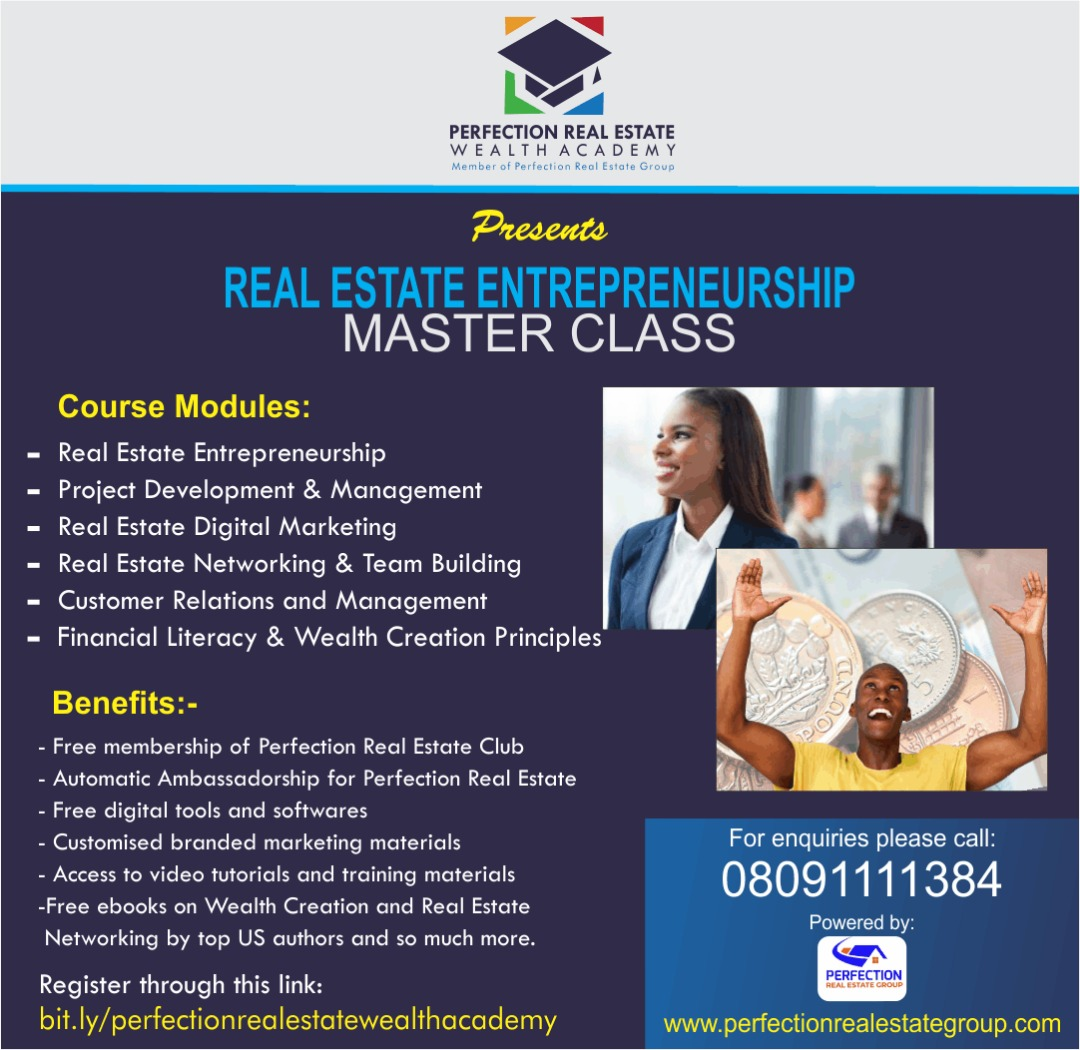 PERFECTION REAL ESTATE WEALTH ACADEMY